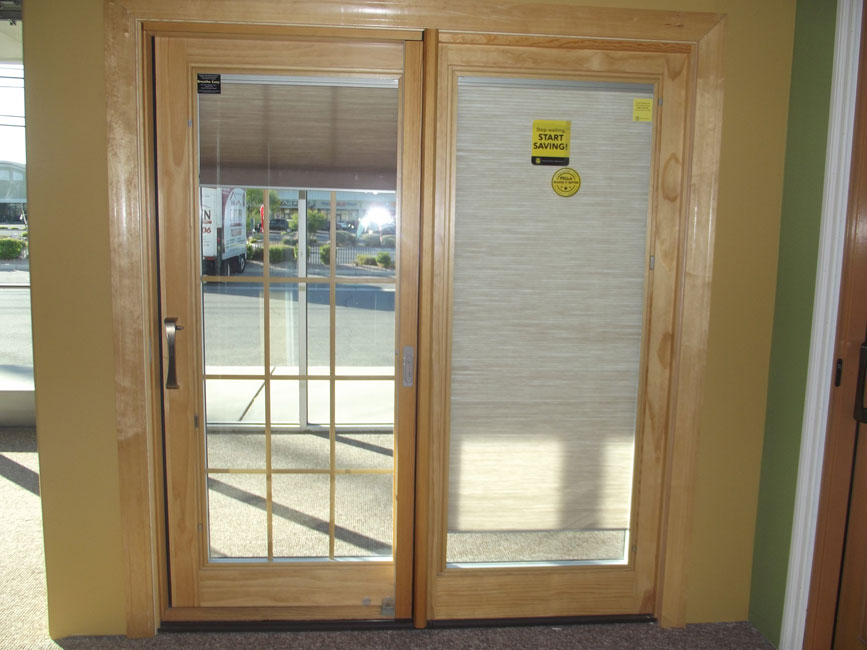 Pella sliding glass doors home design elements for Sliding glass front door